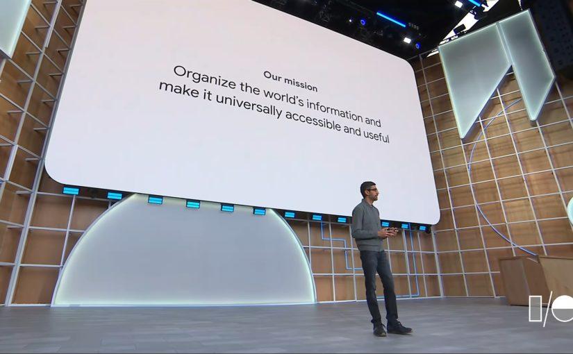 Zusammenfassung: Google IO 2019 Keynote
